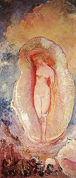 The birth of Venus by Odilon Redon