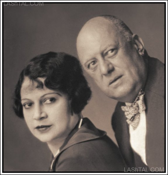 Aleister Crowley and Maria de Mirramar - Life Magazine