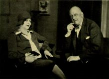 Aleister Crowley and Maria de Mirramar