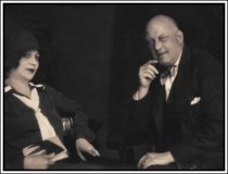 Aleister Crowley and Maria de Mirrramar  - Life Magazine