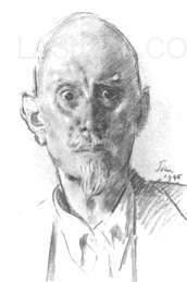 ALEISTER CROWLEY BY AUGUSTUS JOHN