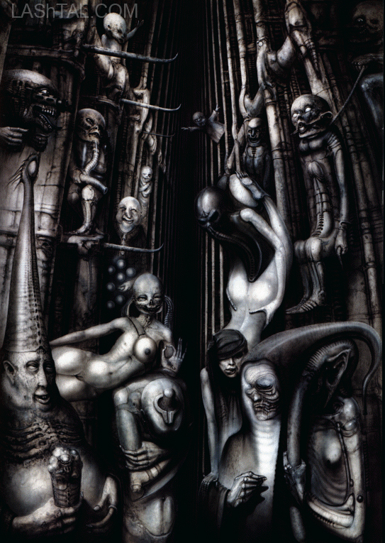 ALEISTER CROWLEY BY GIGER