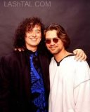 Jimmy Page with Eddie Van Halen