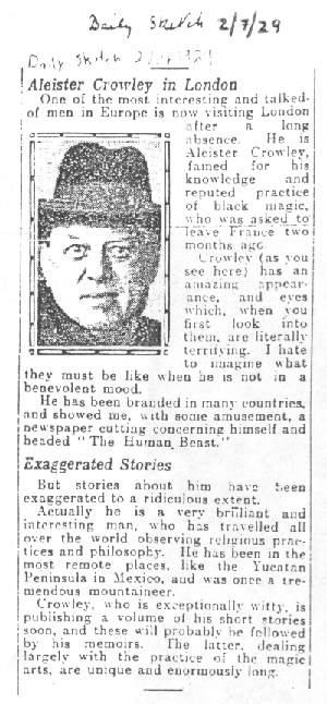 1929 February 7 – Daily Sketch