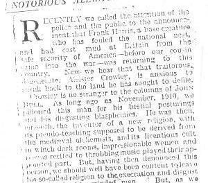 1920 January 10 – John Bull