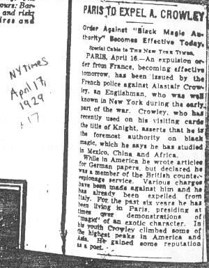 1929 April 17 – New York Times