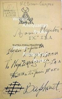 Weiser Antiquarian Books Catalogue 108