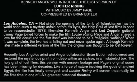 Lucifer Rising in Los Angeles: Jimmy Page Version