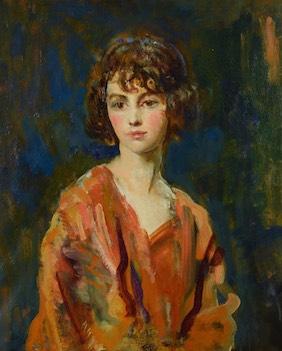 Portrait of Lois Sturt Sold at Auction