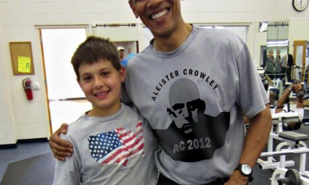 Is Obama wearing an AC shirt? No. That is all.