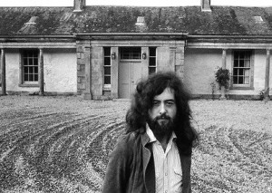 Jimmy Page at Boleskine House at Loch Ness