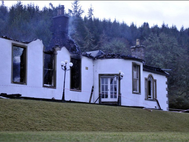 The Ruin of Boleskine House