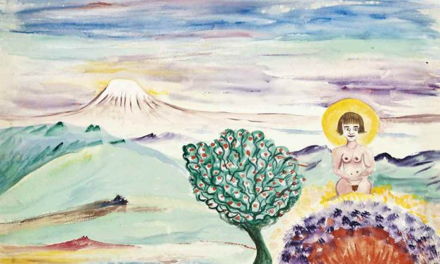 Crowley watercolour being auctioned at Christies 14 September 2016