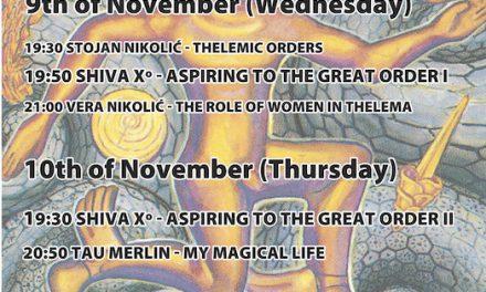 ALEF Skopje presents: Magick of Thelema