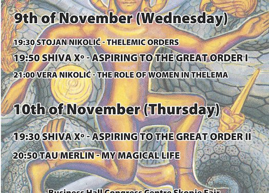 ALEF Skopje presents: Magick of Thelema