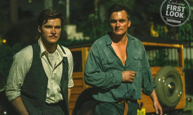 Homeland star Rupert Friend, Jack Reynor seen in first look at Strange Angel
