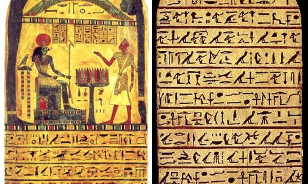 Strange History Of Stele Of Ankh-ef-en-Khonsu – 'Stele Of Revealing' Gave Birth To Thelema, A New Religion | Ancient Pages