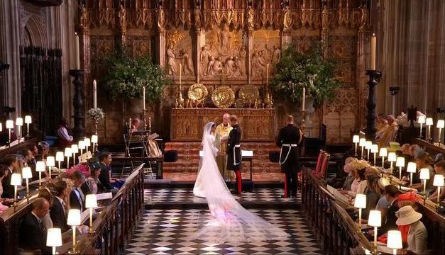 The Royal Wedding was psychedelic, magic and subversive