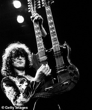 Cocaine, groupies and searing riffs: A new biography of Jimmy Page   Daily Mail Online