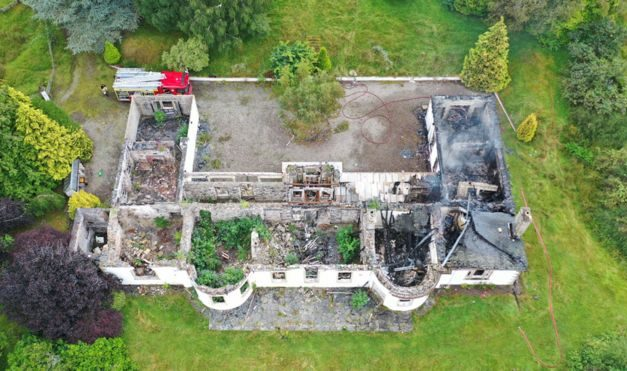BREAKING NEWS: Boleskine on Fire Again [Updated]
