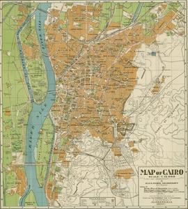 Cairo Map 1908