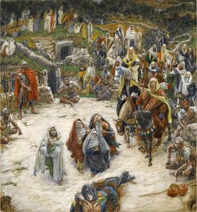 Brooklyn Museum   What Our Lord Saw from the Cross (Ce que voyait Notre Seigneur sur la Croix)   James Tissot
