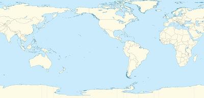 world map pasadena