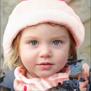 AI face of child