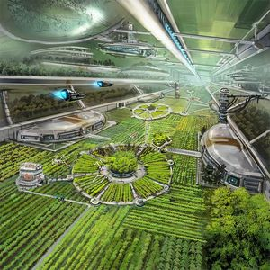Environmental Science Fiction Art Work   The Mother of All Nerds