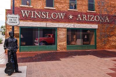 Standin on the Corner Winslow Arizona min